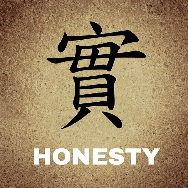 honesty caricature