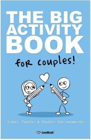 Activity book for couples anniversary gift