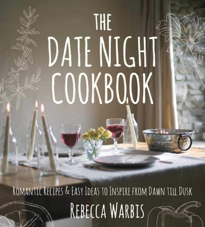 The cover of the Date Night Cookbook