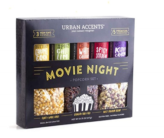 Urban Accents popcorn anniversary gift set