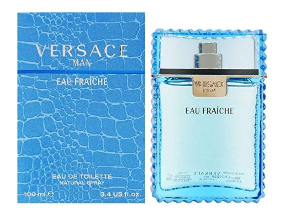 Bottle of Versace Cologne