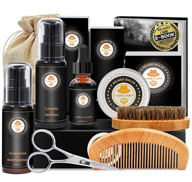 Beard Grooming Kit Unpacked