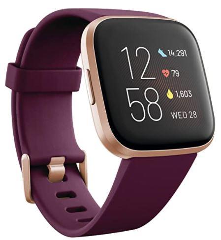 Purple Fit Bit Activity Tracker Watch