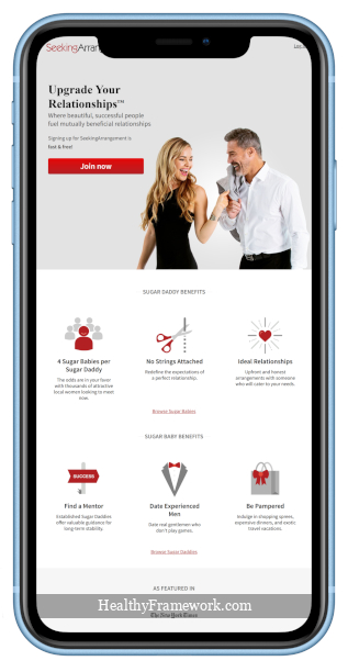 Seeking Arrangement App Screensho