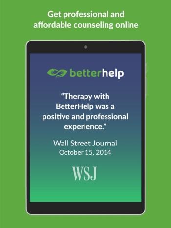 App store screenshot of BetterHelp App