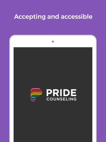Pride Counseling App screenshot