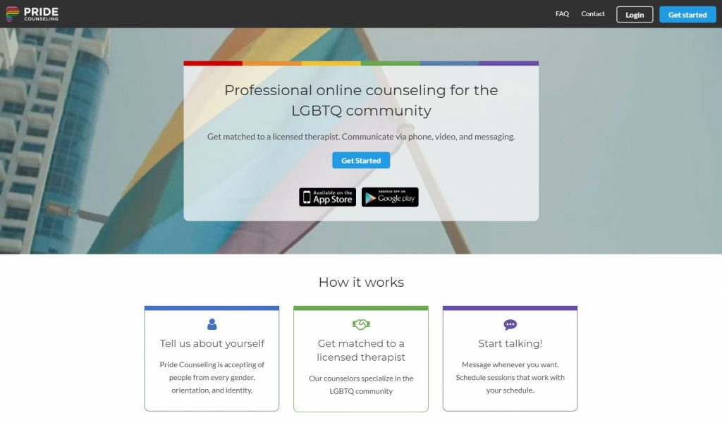 Pride Counseling Homepage