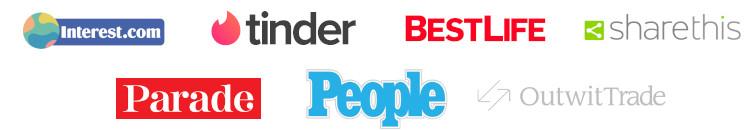 As Seen On logos