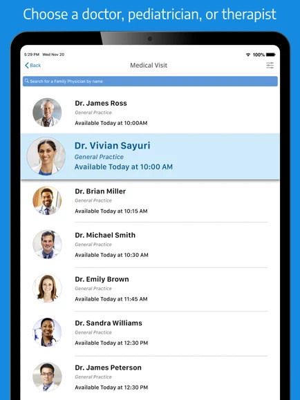MDLive App Screenshot