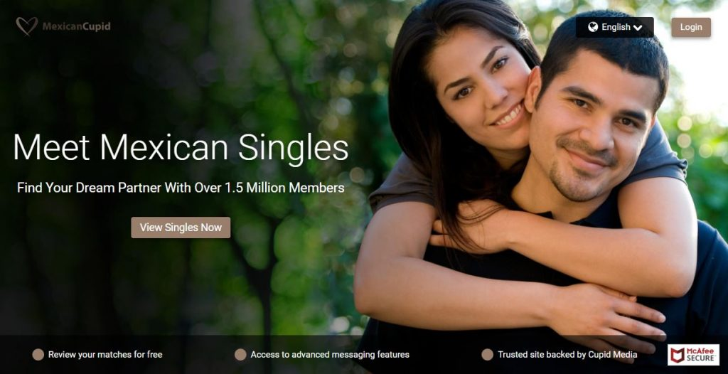 Mexican Cupid Homepage