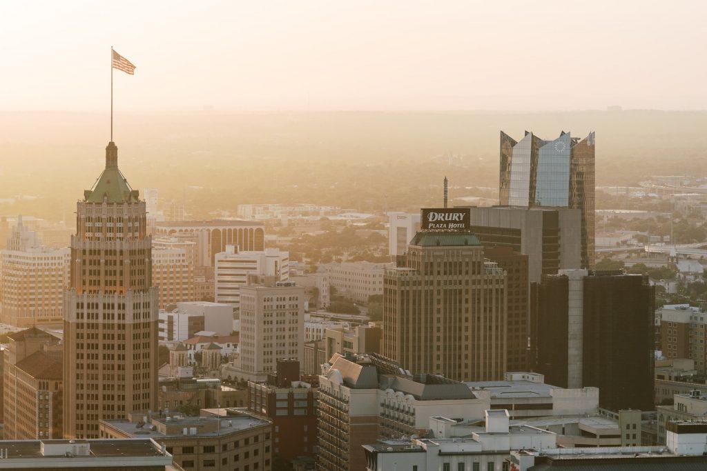 San Antonio downtown city skyline