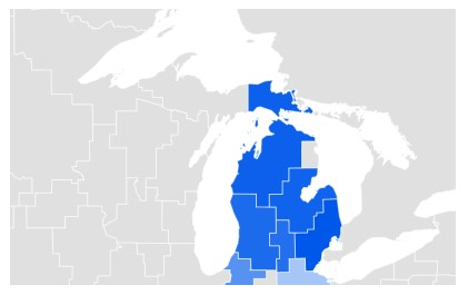 Michigan Google Trends Data for Online Dating