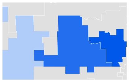 Nebraska Metro Google Data for Online Dating Sites