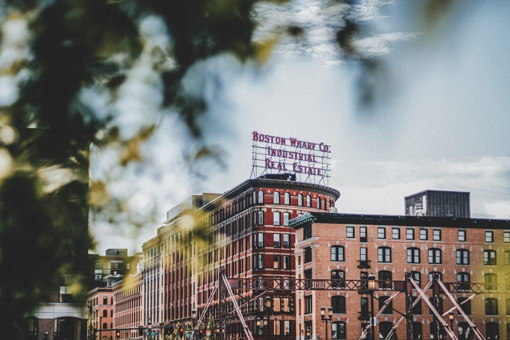 Buildings in the city of Boston, Massachusetts