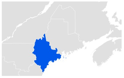Maine Google Trends Data for Online Dating Searches