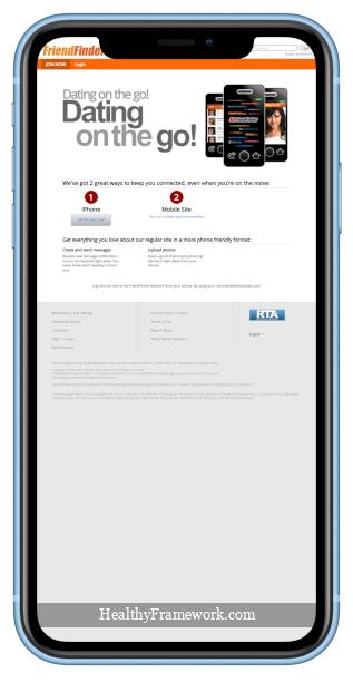 Friendfinder com App Screenshot