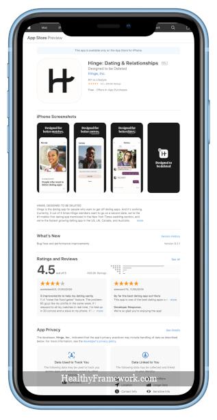 Hinge App Screenshot 3