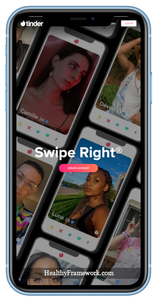 Tinder App Screenshot 1