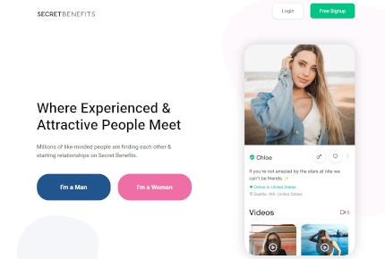 Secret Benefits Homepage