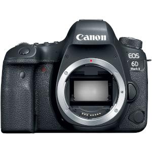 Canon EOS 6D Mark II Digital SLR Camera, Wi-Fi Enabled