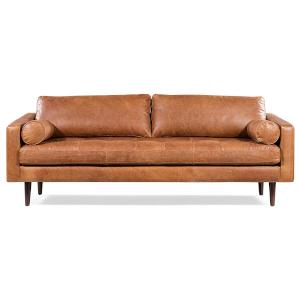 Sofa in Full-Grain Italian Leather