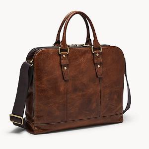 Fossil Men's Eco Leather Laptop Bag