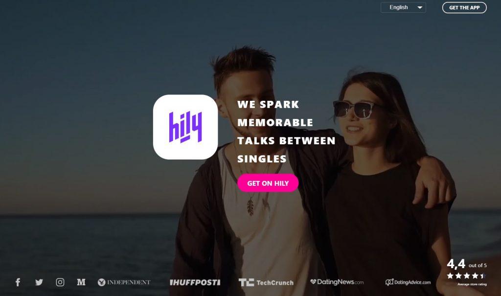 Hily Dating App Screenshot