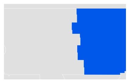 North Dakota Dating Stats Info Map