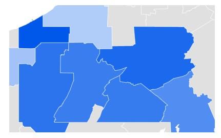 Pennsylvania Metro Data on Online Dating