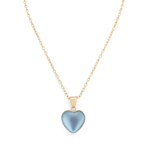 Alchemia luminite heart necklace by Charles Albert