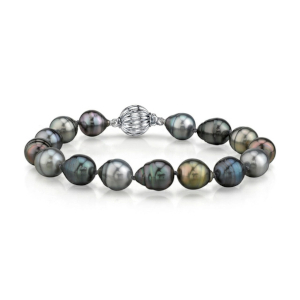 Baroque Pearl Bracelet by The Pearl Source