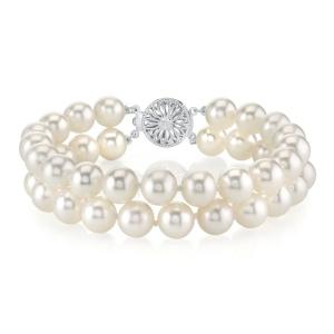 Pearl Source Double Pearl Bracelet