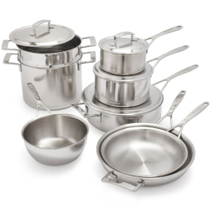 Silver Pots and Pans by Demeyer