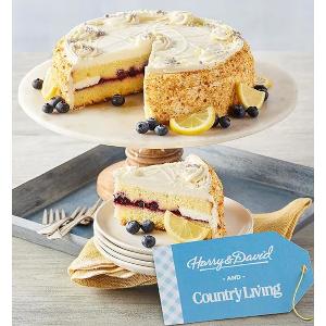 Lemon Blueberry Cake by Harry and David
