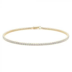 Petite Gold and Diamond Bracelet