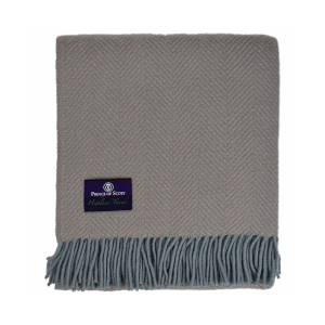Prince of Scots Pure Wool Throw