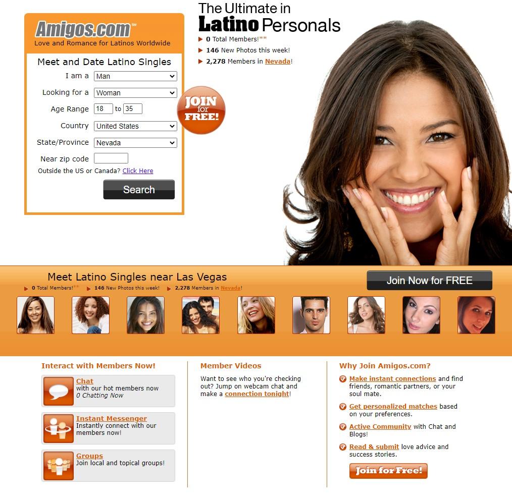Amigos.com Homepage