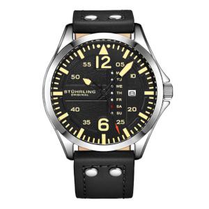 Aviator Quartz Watch by Sturhling