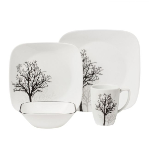 Corelle Timber Shadows Dinnerware Set