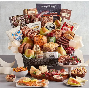 Hearthside Treat Basket by Harry and David