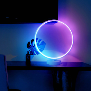 Neon Ring Home Theory Lamp