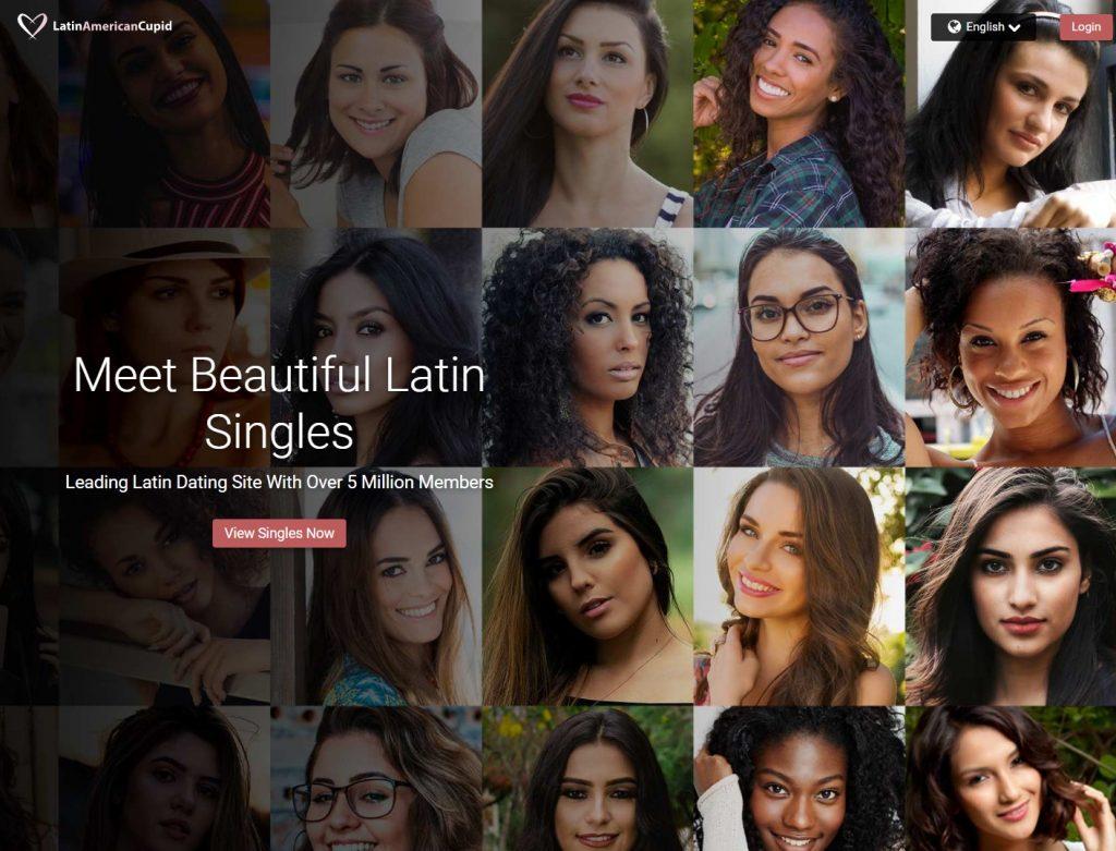 LatinAmericanCupid homepage