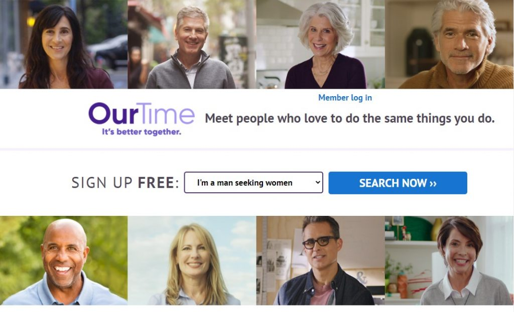 Our Time Homepage