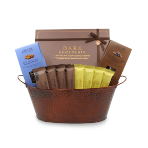Premium Dark Chocolate Gift Basket