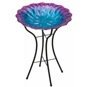 Regal Art & Gift Honeycomb Birdbath