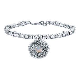 Sapphire and Opal Bracelet