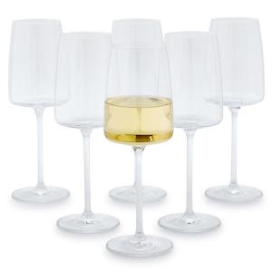 Soft White Wine Glass Set