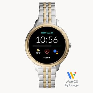Stainless Steel Smartwatch by Fossil
