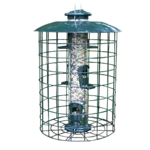 WoodLink Caged Tube Bird Feeder